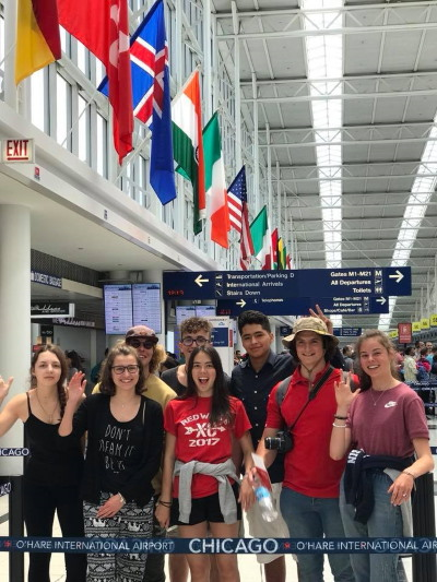 Reflections International | International High School Youth Exchange | Wisconsin | Arrival